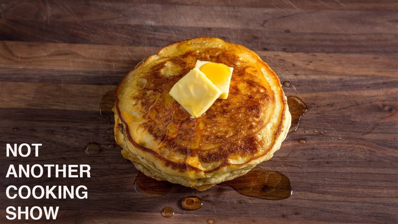 Sour Cream Pancakes A Riff On James Beard S Recipe Sour Cream Pancakes Pancakes Recipes