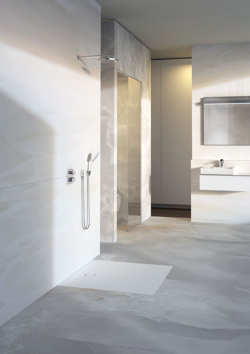 The Geberit Setaplano flooreven shower surface a new