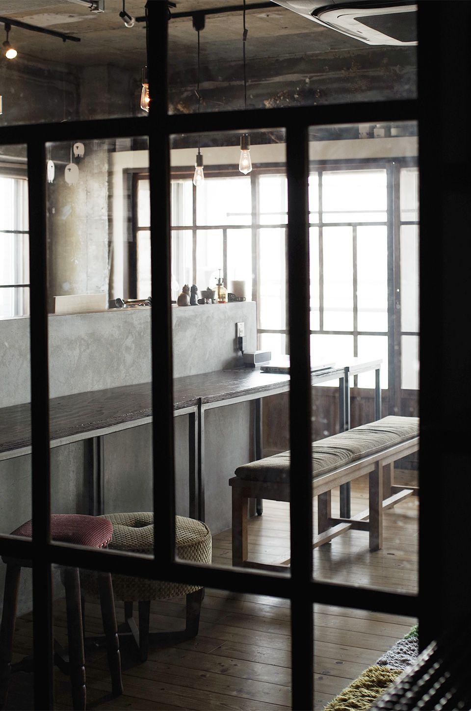 古道具店で購入した昭和ガラス建具