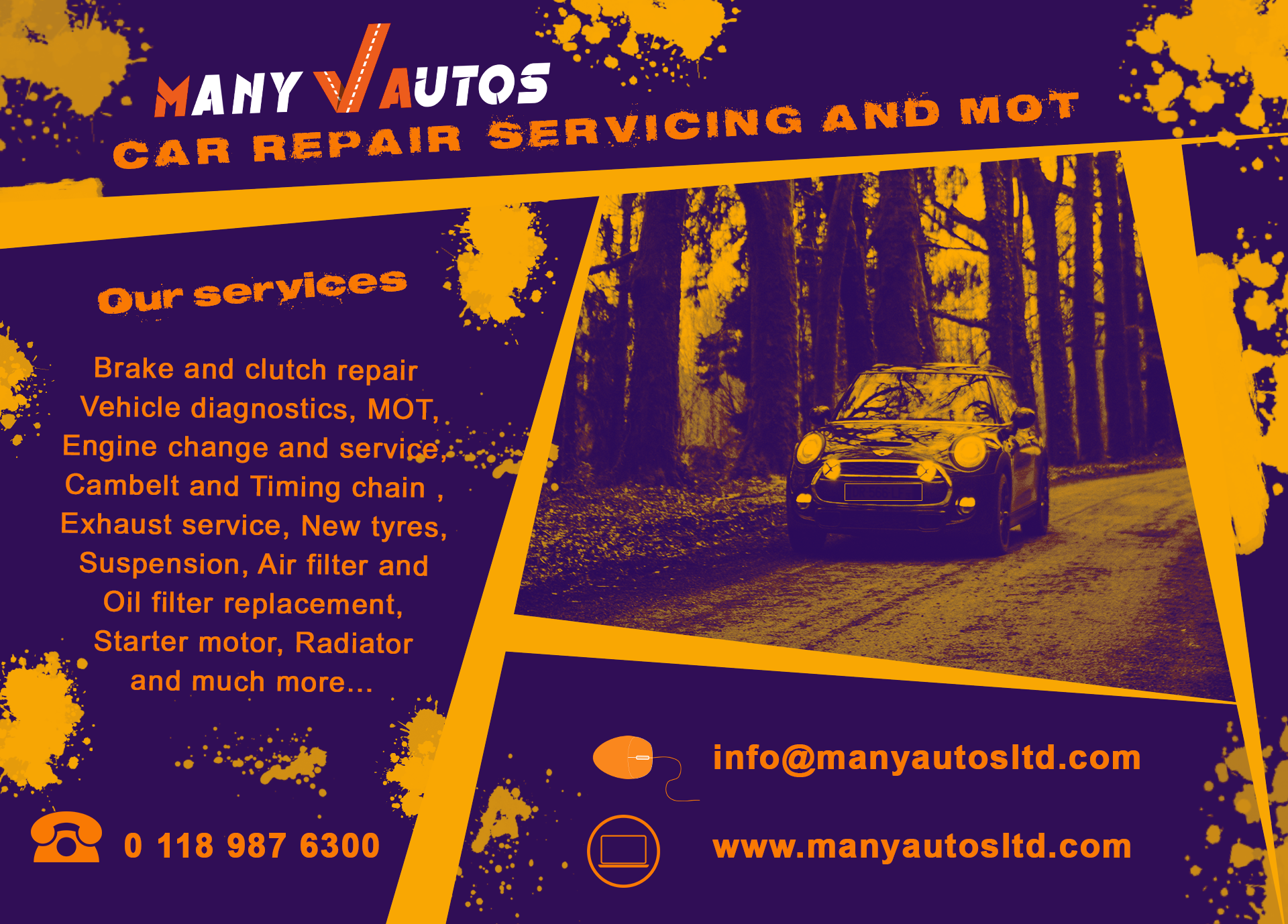 Car repair and servicing in Reading. We provide free
