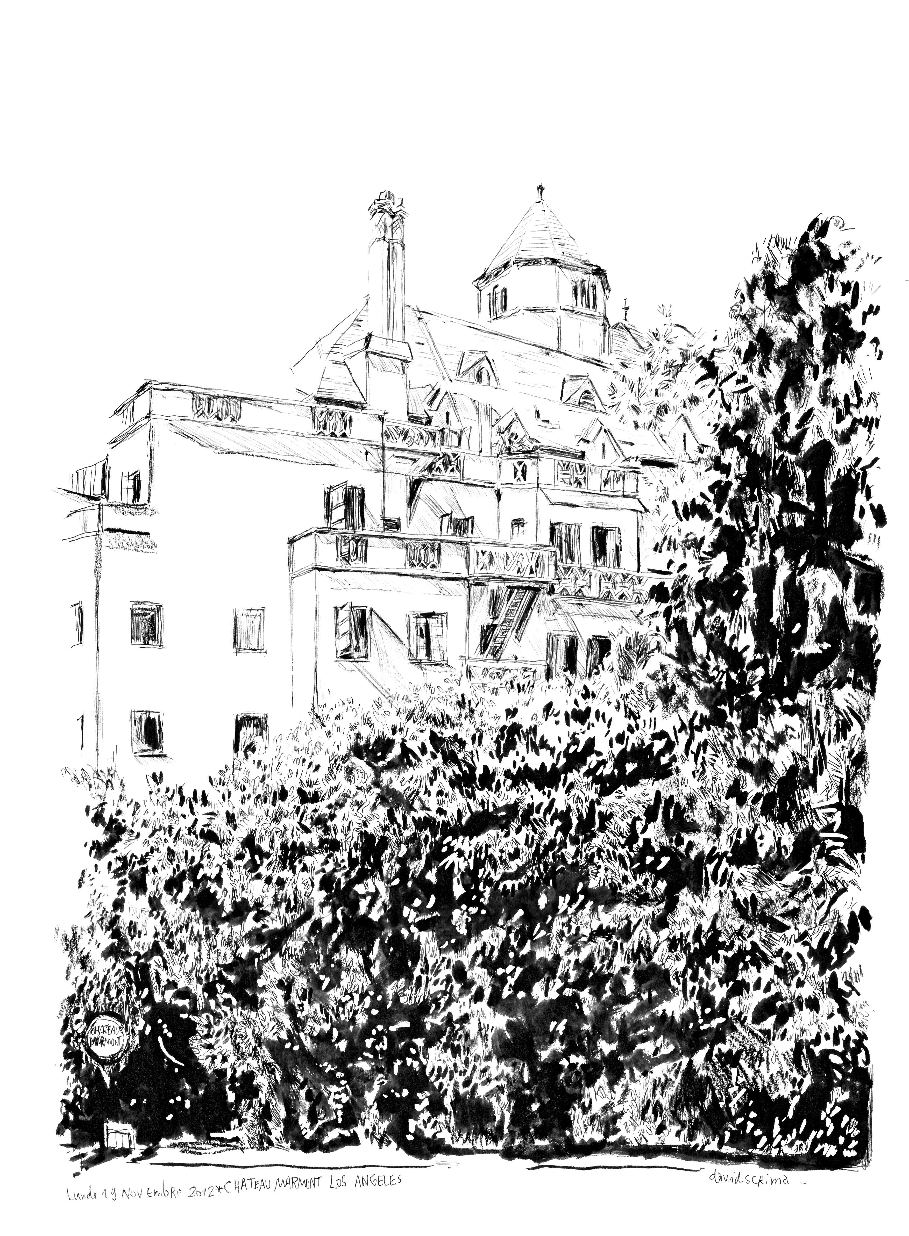 chateau Marmont http://davidscrima.wordpress.com/2012/11/30/chateau-marmont-los-angeles/