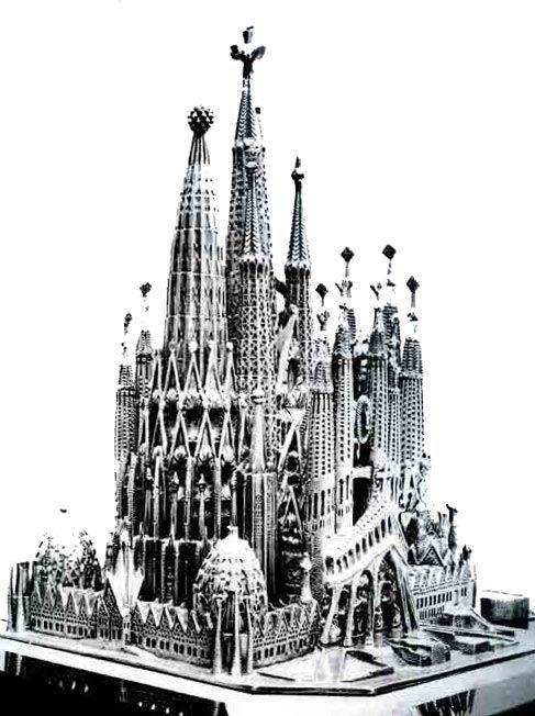 La Sagrada Familia De Gaudi Gaudi Spanien Bilder Kathedrale
