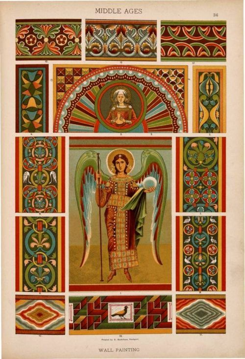 Middle Ages Wall Painting Ideas For Borders