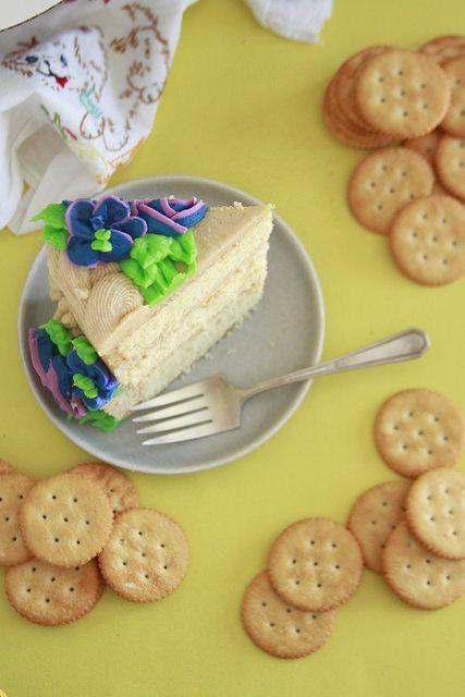 Ritz cracker cake recipe