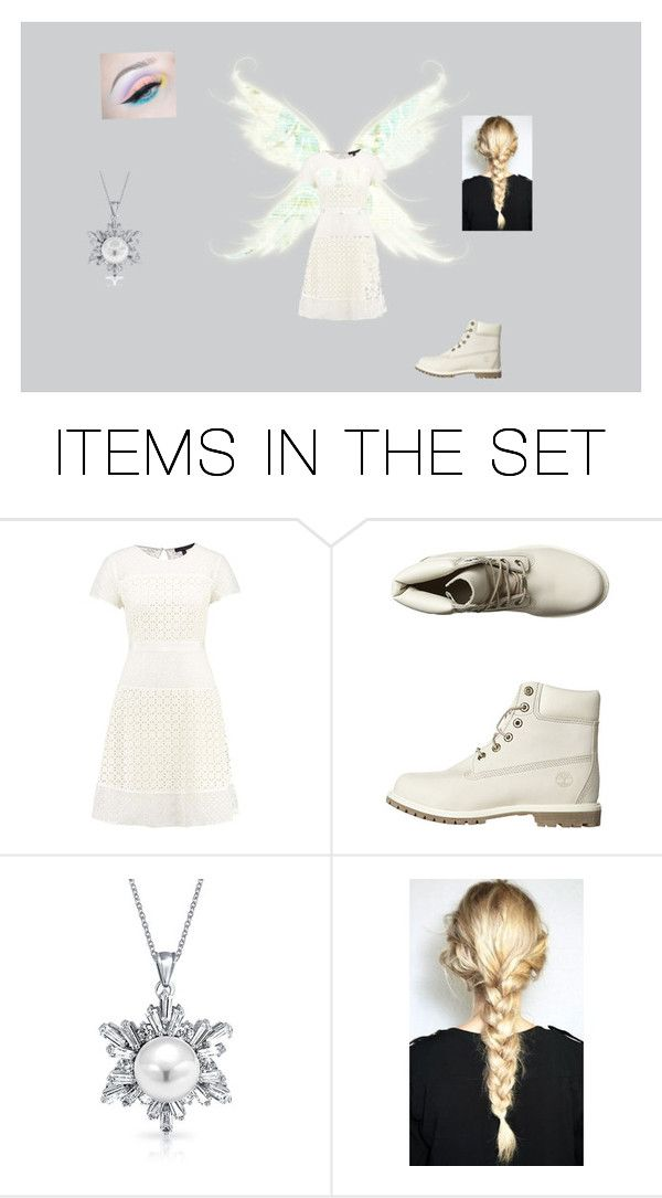 """""""Snow Fairy"""" by operationpancake ❤ liked on Polyvore featuring art"""