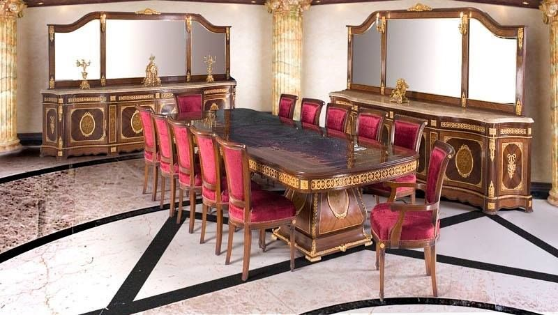 Pinjenny Classical On Luxury Dining Room  Pinterest Gorgeous Dining Room Empire Design Inspiration
