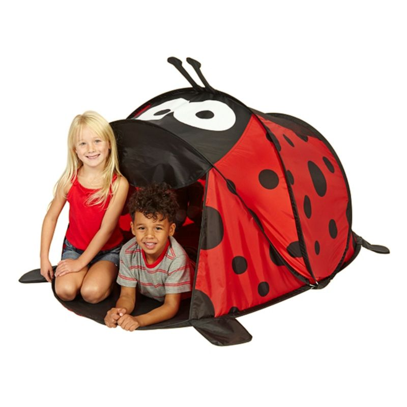 kids popup ladybird play tent from Asda  sc 1 st  Pinterest & kids popup ladybird play tent from Asda | CWS ? LIttle Glampers ...