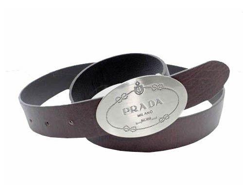 Belt with silver buckle Prada AgxTDZoeR