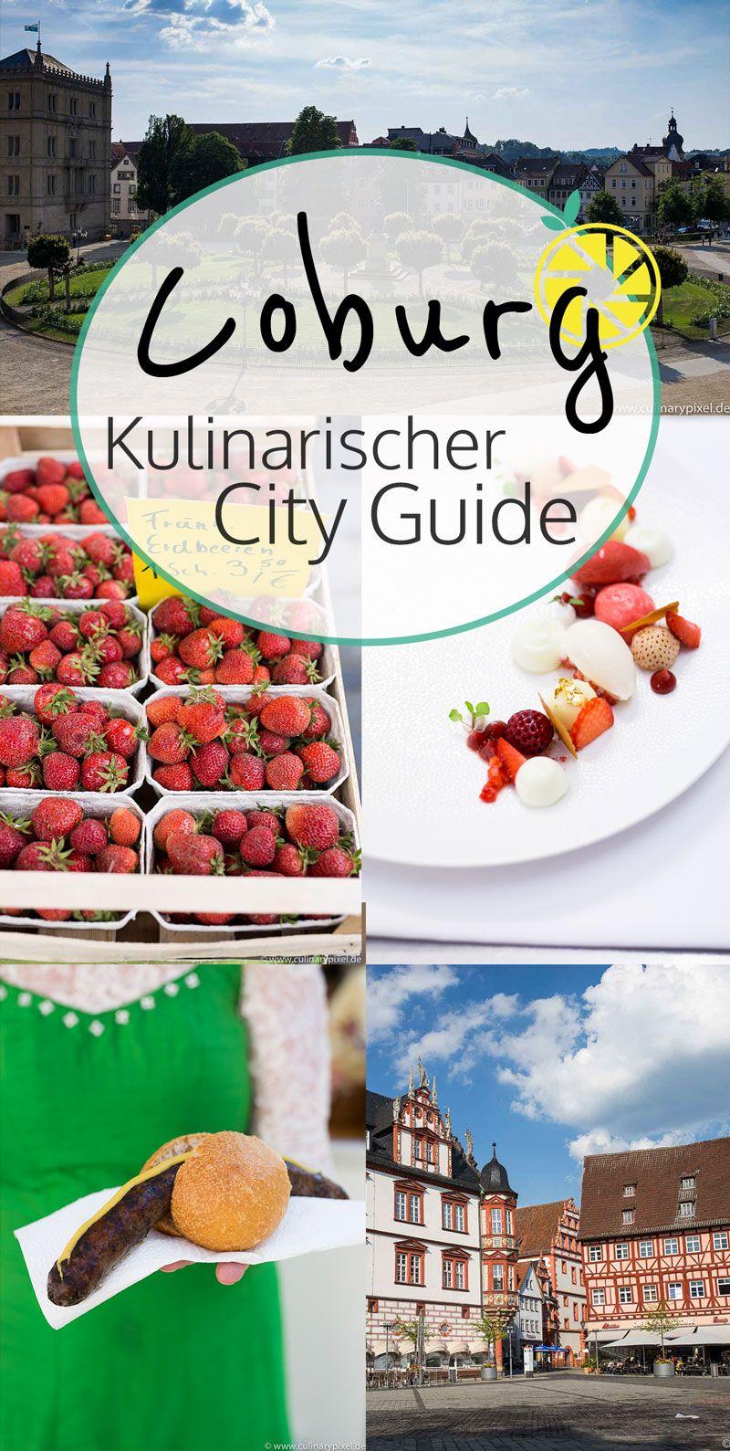 Coburg Kulinarischer City Guide Mit Vielen Empfehlungen Karte Kulinarisch Restaurant Coburg