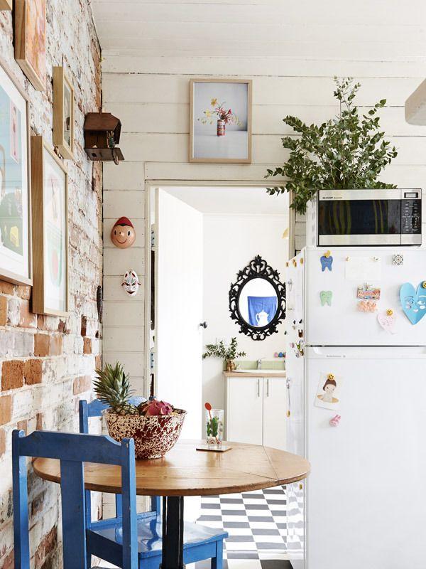 cute little kitchen #decor #cozinhas #kitchens