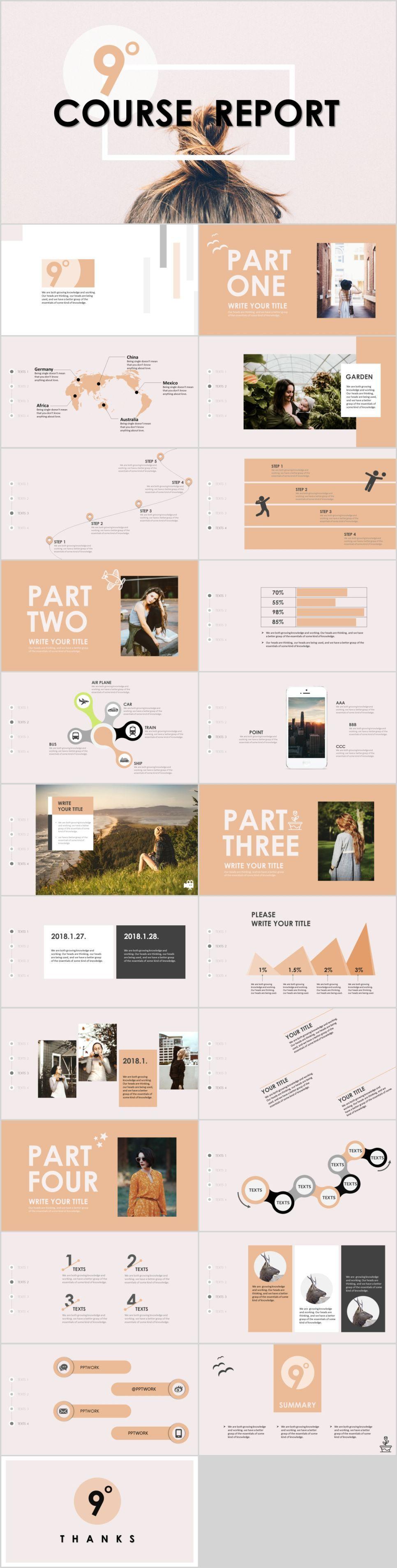 24+ garment company analysis report PowerPoint template | Pinterest ...