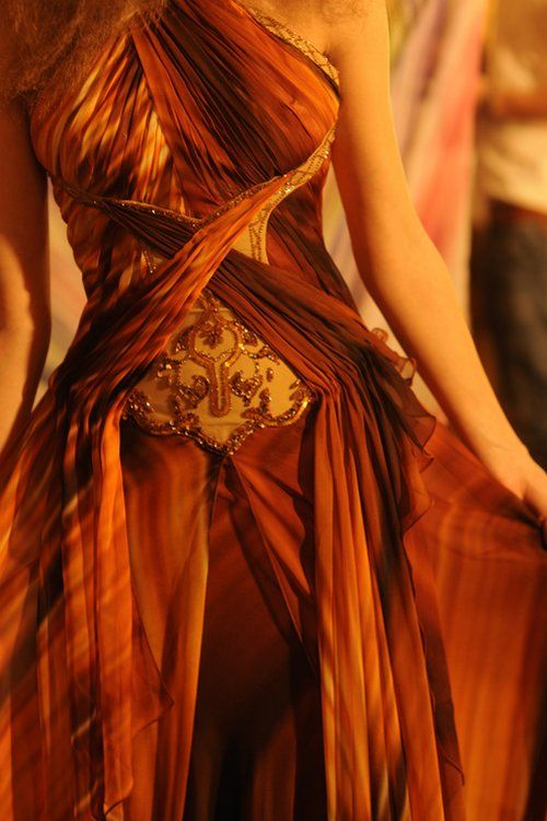 Dress from Fashion week 2009 collection of Robert Abi Nader