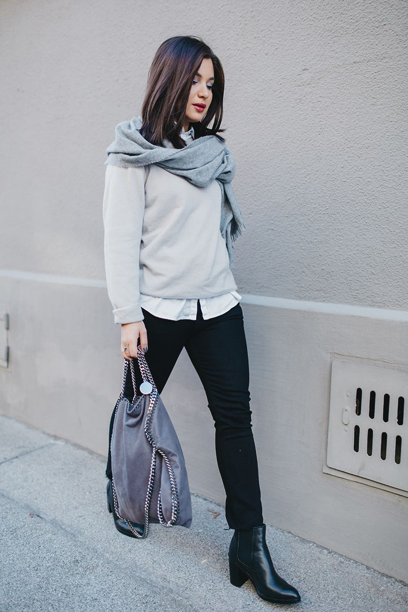 OUTFIT: HOLOGRAPHIC GREYS | Outfit, Mode outfits und ...