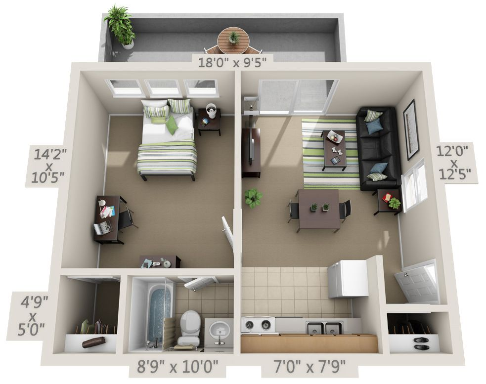 Here At College Park Gainesville We Lease Studio One Bedroom Two Bedroom Three Bedroom F Interior Design Colleges Home Design Floor Plans Apartment Layout