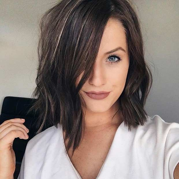 popular hair styles 31 best shoulder length bob hairstyles textured bob 3718