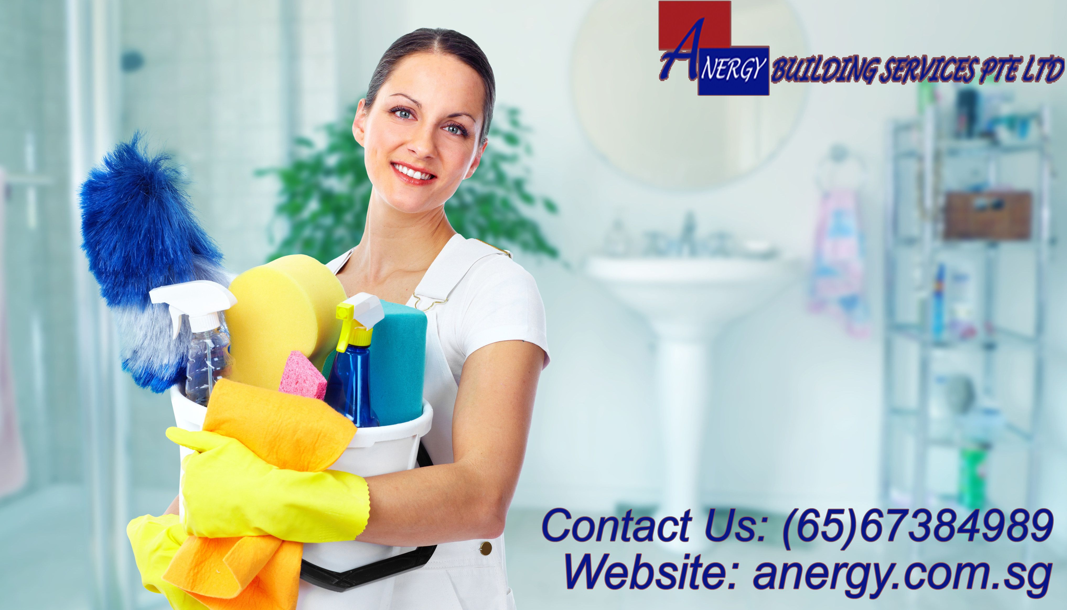 Anergy Building Services is the best cleaning equipment