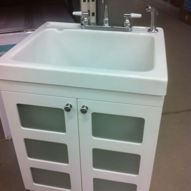 Laundry Tub   Home Depot. (Minus The Doors)