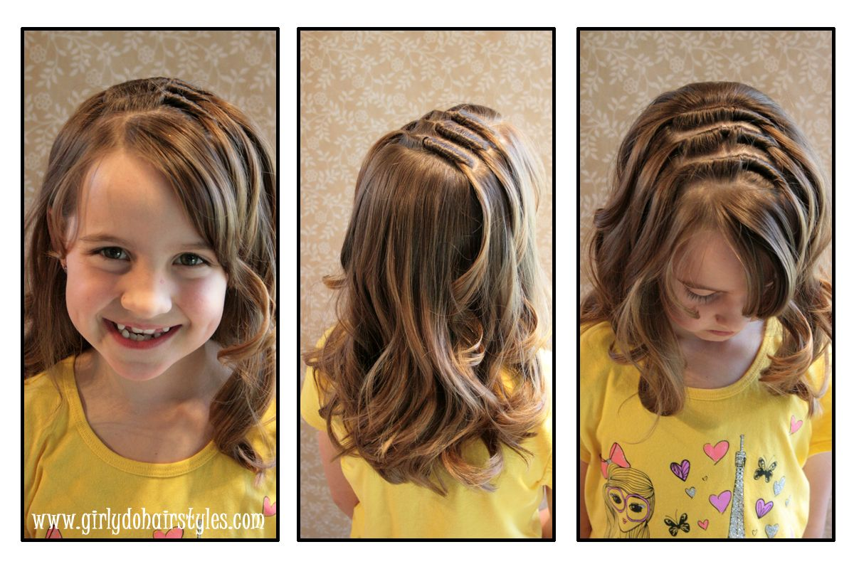 Girly dos by jenn long knot hairstyle cute toddler hairstyles