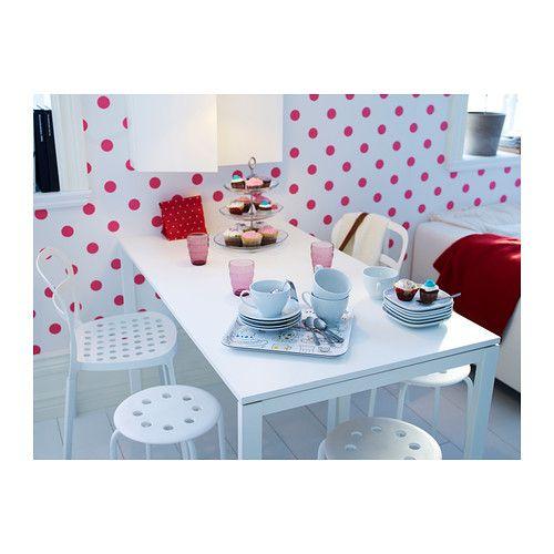 melltorp bord ikea bordsskivan r belagd med melamin ger en fukt och rept lig yta som r l tt. Black Bedroom Furniture Sets. Home Design Ideas