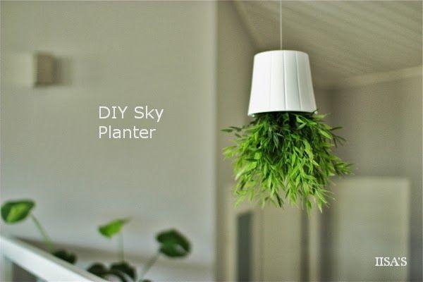 IISAS'S // DIY: Sky Planter
