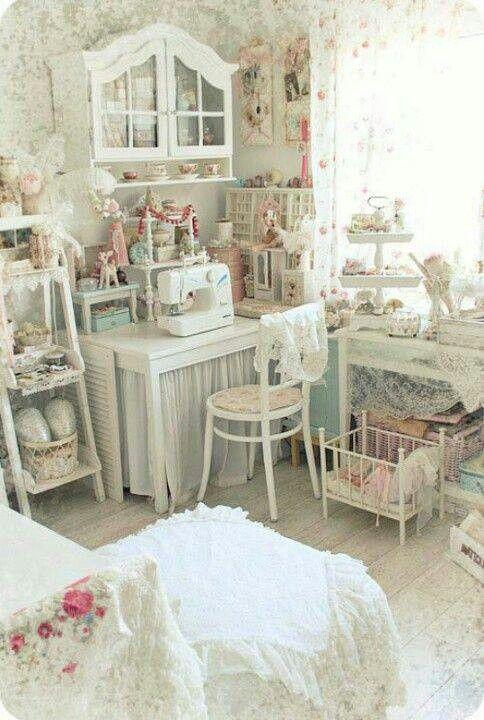 Un espacio de trabajo muy romántico