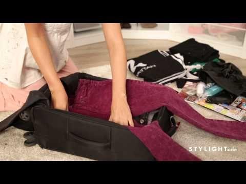 So packst du deinen Koffer richtig – Mehr Platz, weniger Knitterfalten!   STYLIGHT