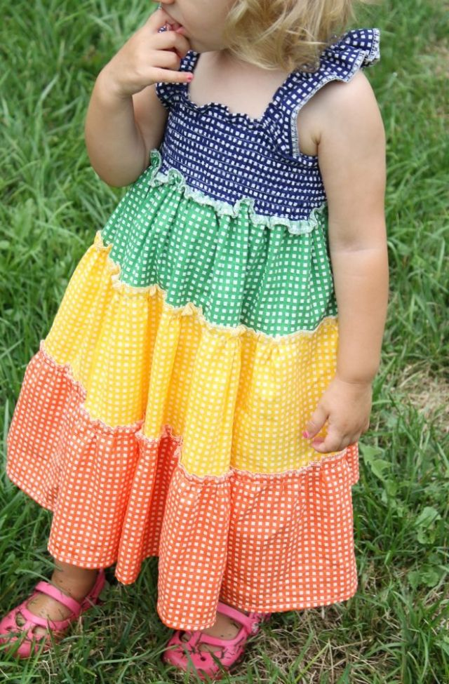 Little Girl Dress Patterns Free Easy | Sewing | Pinterest ...