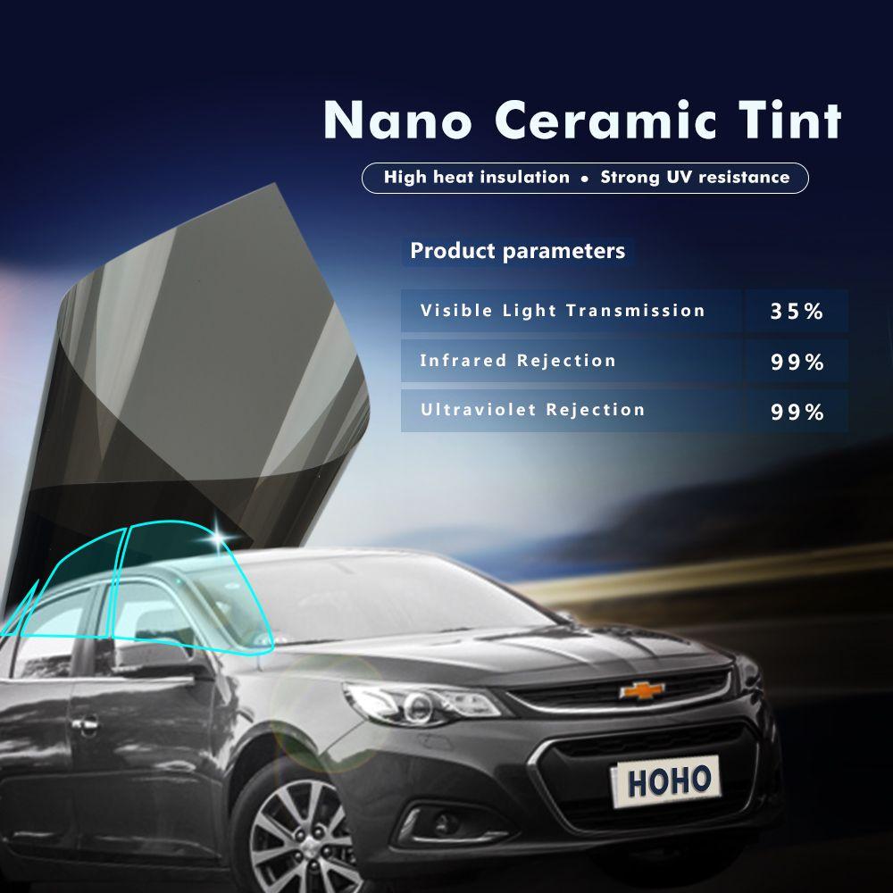 1 52x30meter Car Window Tints Window Film 35 Vlt Nano Ceramic Solar Tint Film Window Tint Film Tinted Windows Window Film