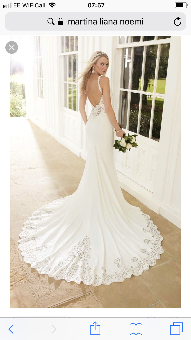 Martina Liana Noemi Gown Sell My Wedding Dress 750 00 In