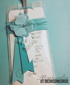 Partecipazione Prima Comunione Verde Tiffany Fai Da Te Pinterest Cer Etichette Bomboniera Biglietti Auguri Cresima Fai Da Te Idee Per Biglietti Di Compleanno