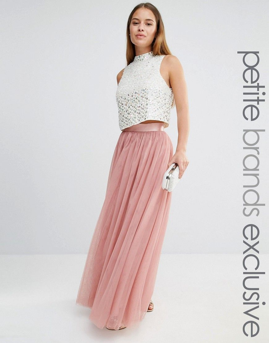 023a4834da23 True+Decadence+Petite+All+Over+Tulle+Full+Maxi+Skirt | Bridesmaids ...