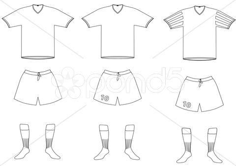 Dibujos de uniformes de futbol para colorear - Imagui | CHIN ...