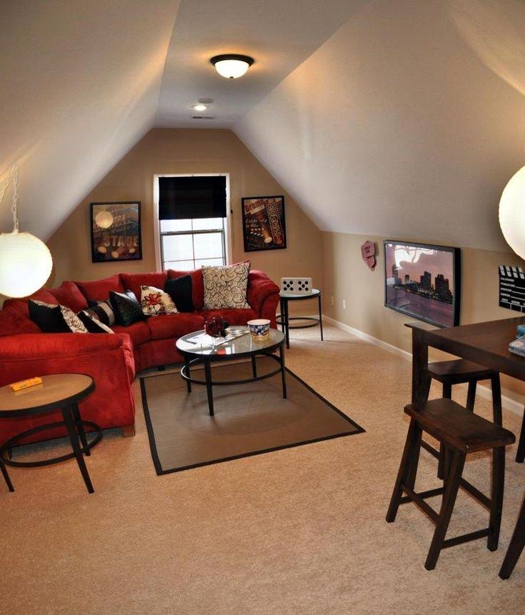 #bonusroom #DSA #homedecor | Bonus room design, Attic game ...