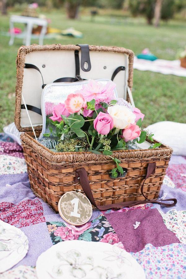 Fun Summer Wedding Reception Theme Picnic Weddings Pinterest