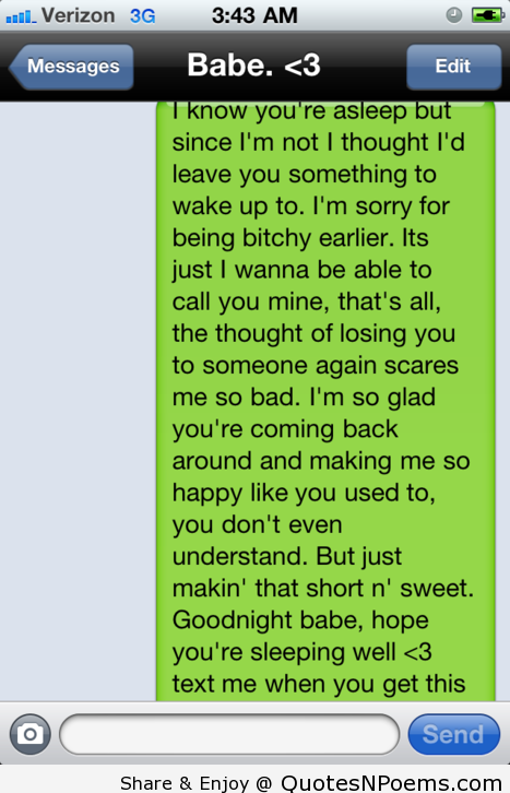 what to say to a girl in a text message
