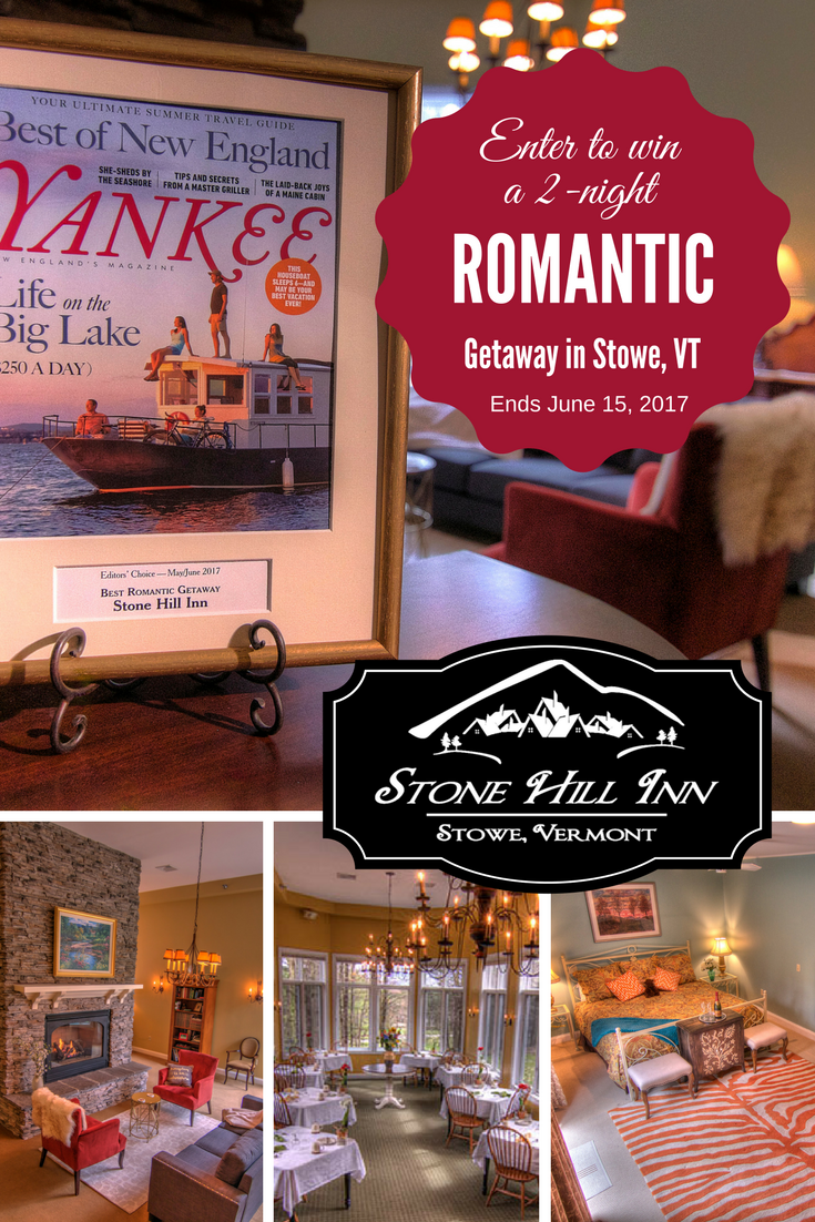 Come stay in romantic Stowe, Vermont for 2 luxurious nights at the ...