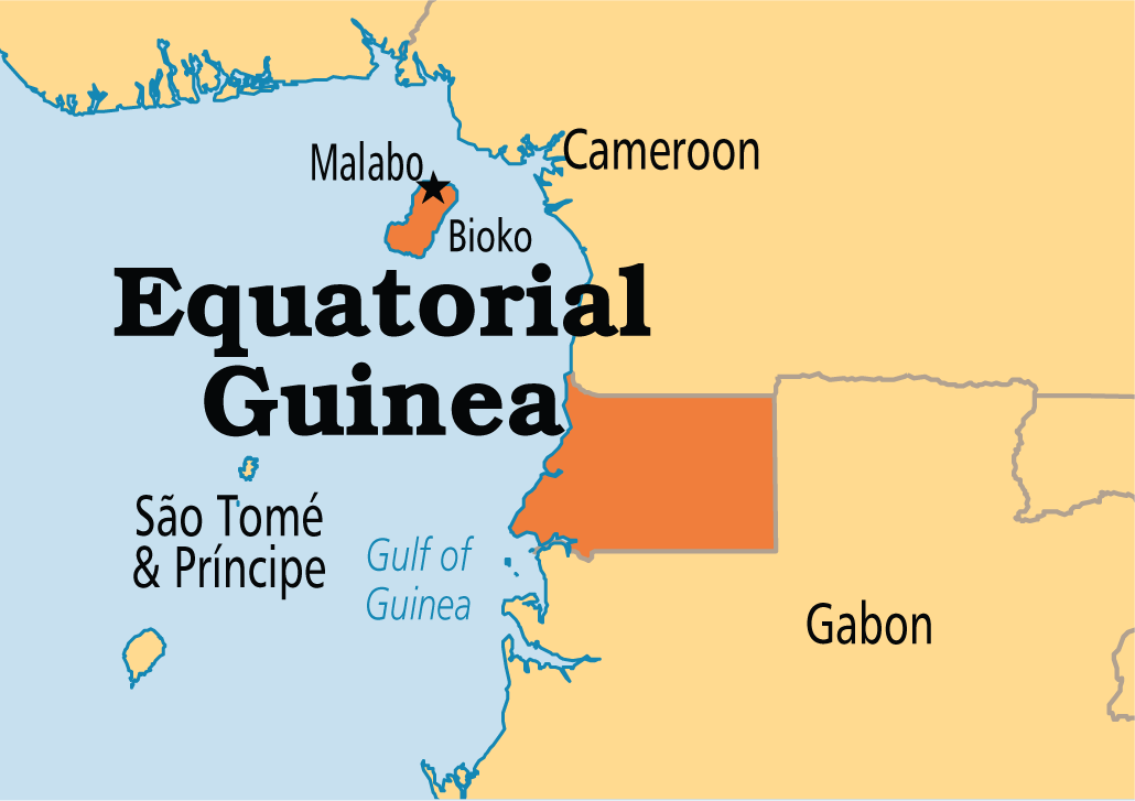 Equatorial Guinea is country in Africa The capital of Equatorial