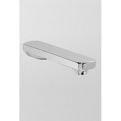 Toto Upton Wall Mount Tub Spout Trim Trim Finish: Polished Nickel