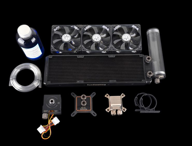 Syscooling High Performance Cooling System Computer Cpu And Gpu