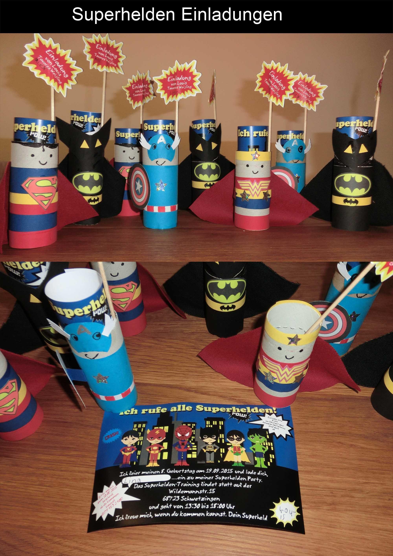 Einladungskarte Lolli Superheld Von Zoisam Auf DaWanda.com |  Kindergeburtstag | Pinterest | Superhelden, Einladungskarten Und Dawanda