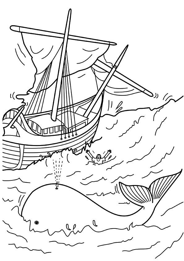 10 Best Jonah And The Whale Coloring Pages For Your Little
