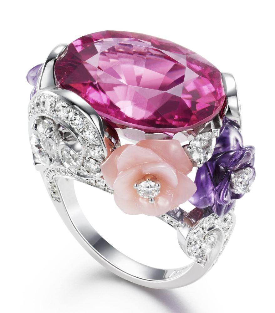 Os lançamentos da coleção Rose da Piaget   Rose, Jewel and Sapphire