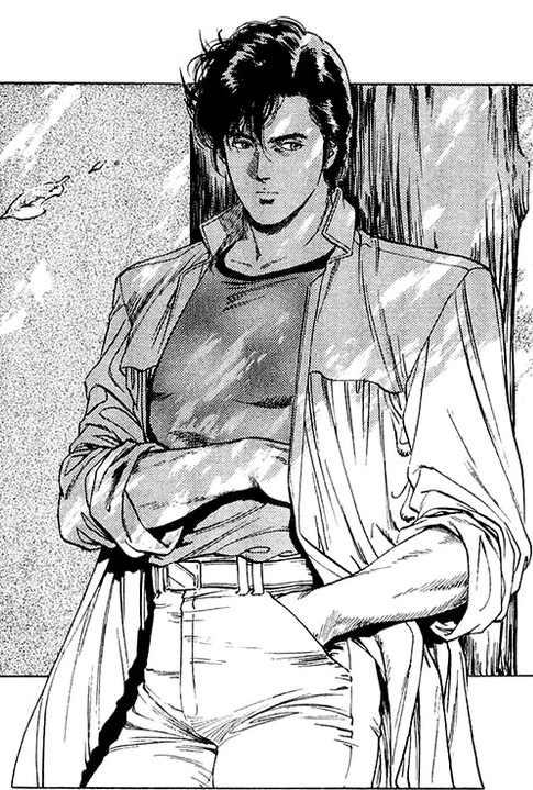 Ryo Saeba From City Hunter City Hunter Dessin Animé Et