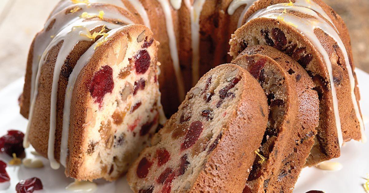Orange-Cranberry-Nut Fruit Cake | Recipe | Fruitcake ...