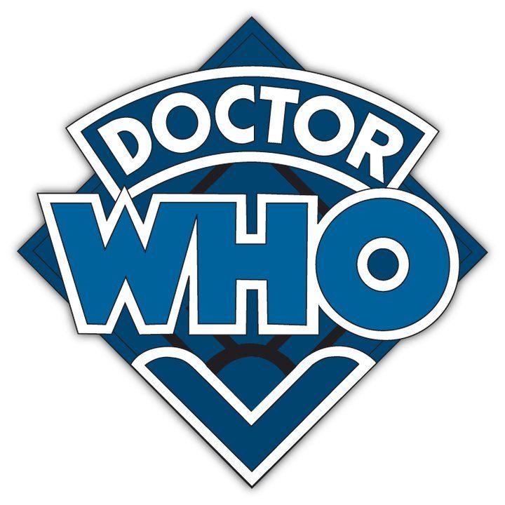 Old Logo Blue Retro Logos Old Logo Doctor Who Logo