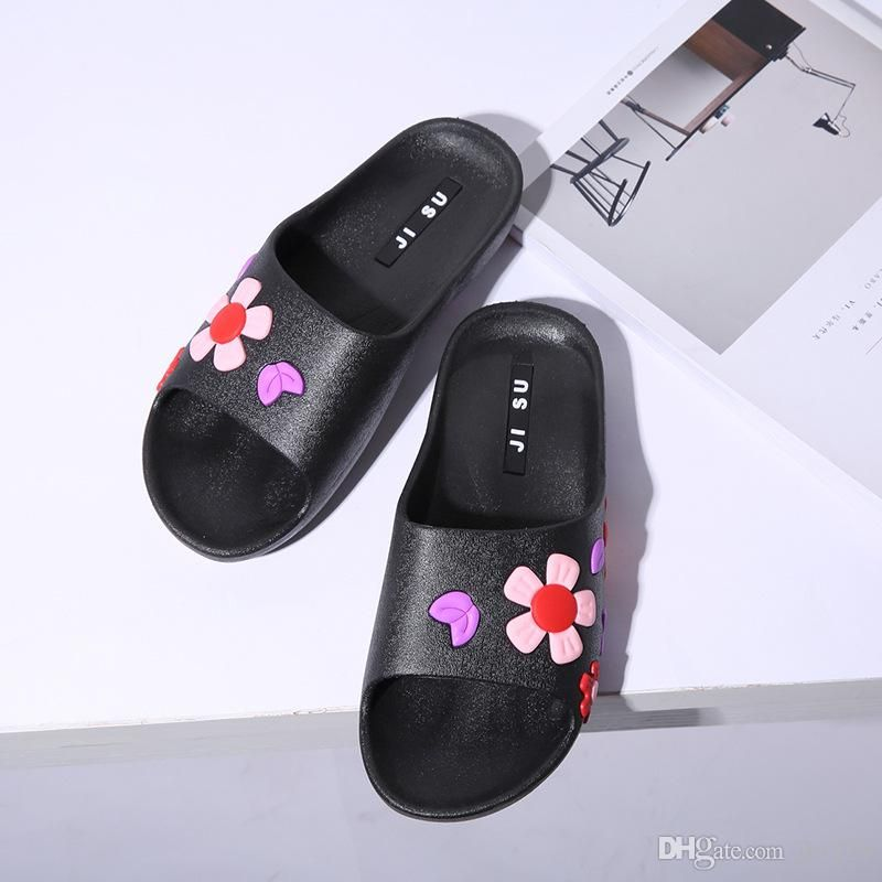 42bfe21a966d9b Fashion Slide Sandals Slippers For Women With Box 2017 Hot Brand Designer  Flower Printed Beach Flip Flops Siipper House Shoes Top Quality Combat  Boots ...