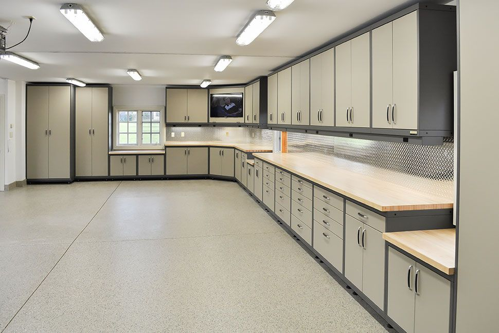 GL Custom Steel - Garage Cabinetry