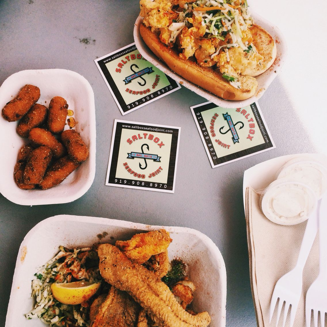 The Salt Box Seafood Joint In Durham Nc Places To Eat Pinterest
