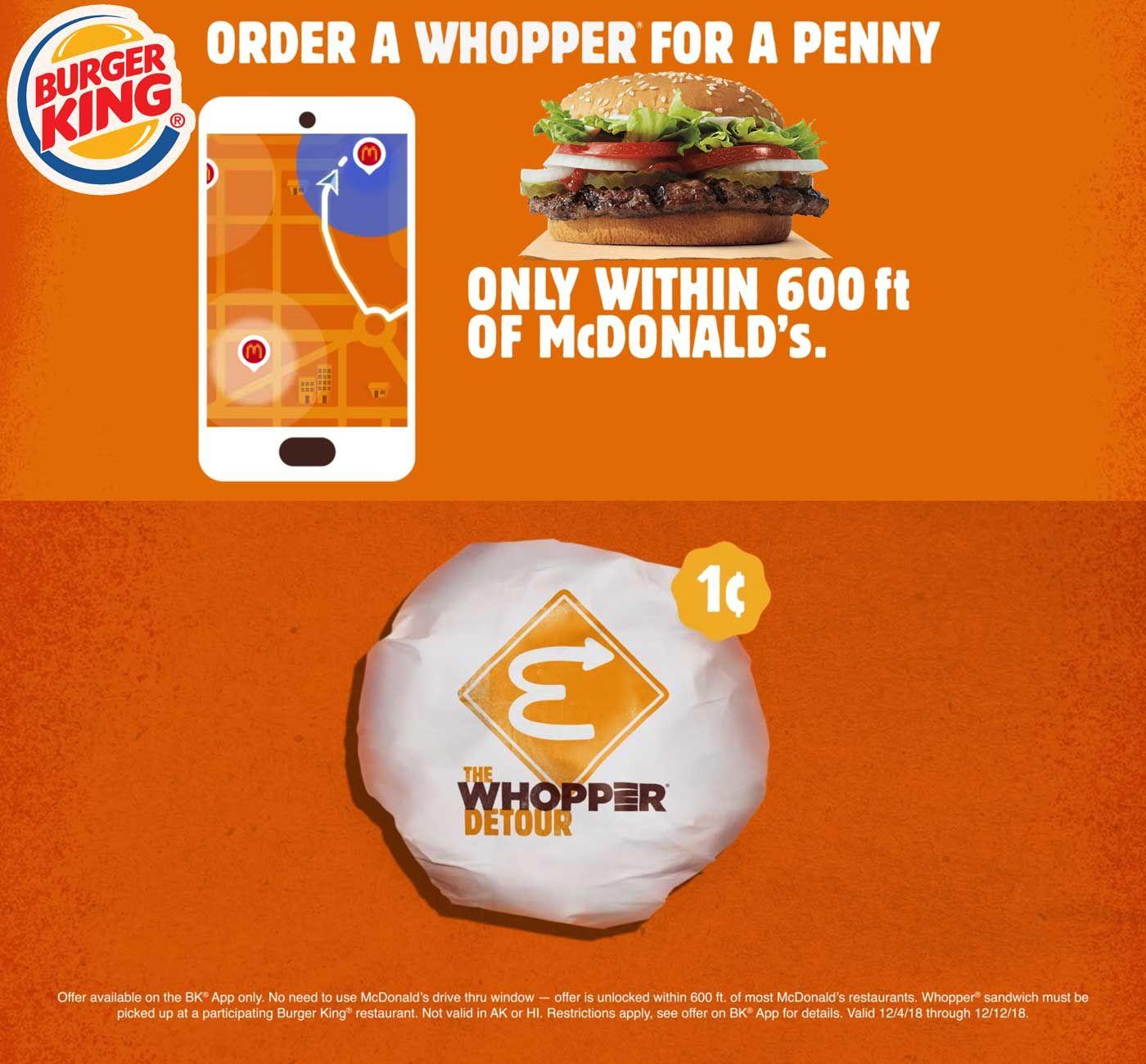 Take part in Burger King customer survey to win coupon