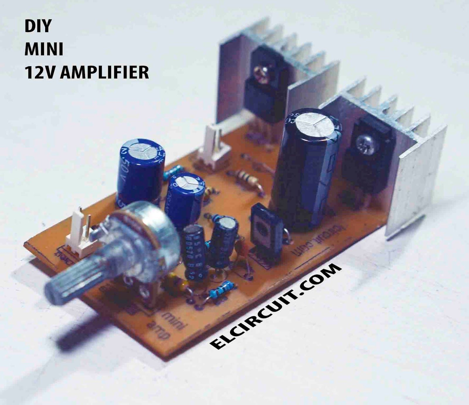 hight resolution of mini power amplifier circuit